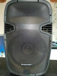 "Caixa Ativa Ecopower EP S503 - Subwoofer 15"" - Bluetooth"