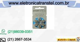 Bateria p/ Aparelho Auditivo Power One P-675