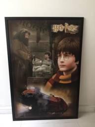Vendo quadro pôster de Harry Potter