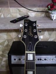 Guitarra Lespaul Golden.