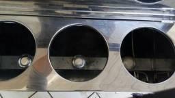 Carrinho para Lanches em perfeito estado + chapa a gás - Pouquíssimo uso