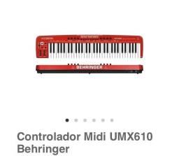 Controladora behringer umx610