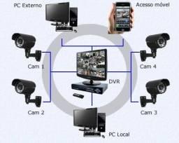 CFTV Monitoramento a Distância