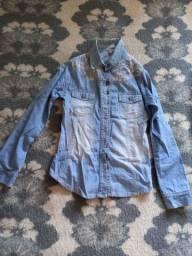 Camisa de algodao