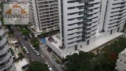 Apartamento com 3 quartos para alugar, 98 m² por R$ 3.317 mês com taxas - Boa Viagem - Rec