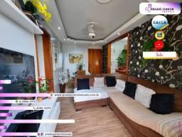 Lindo Apartamento Decorado de 2 Quartos com Vaga - Apenas 600mts do Centro