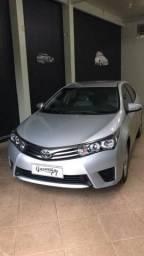 Raridade Corolla GLi 1.8 automático 2017 62.000km impecável