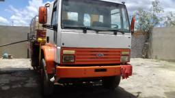 Ford Cargo 1415, Munk 12,5 T Madal - 1998