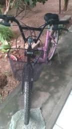 Troco em bicicleta masculina