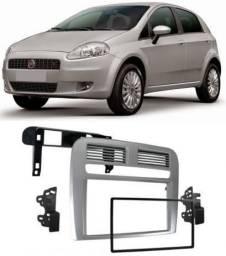Moldura De Painel 2 Din Fiat Punto 2008 a 2012