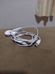 Fone de ouvido e carregador para iPhone 7 - ORIGINAL
