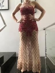 Vestido de festa fala Marca Jovani