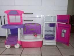 Cozinha de brinquedo completo