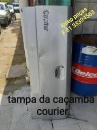 Tampa da caçamba courier