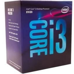 Processador I3-8100 LGA1151 - Frete Gratis! Na Caixa!