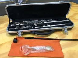 Flauta Transversal Benson - Niquelada/C