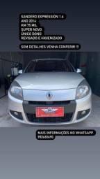 Vendo sandero 2014 expression 1.6