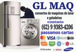 Conserto manutenção em máquinas de lavar roupas