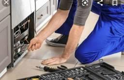 Técnico de máquina de lavar e geladeira