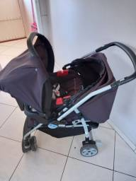 Carrinho de bebe e bebe conforto Burigotto travel system