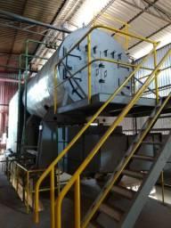 Caldeira H Bremer 8 ton 10 pressão revisada trabalhando