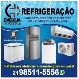 Título do anúncio: Refrigeração e Elétrica