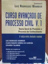 LIVRO: CURSO AVANÇADO DE PROCESSO CIVIL VOL. 1 (Leia)