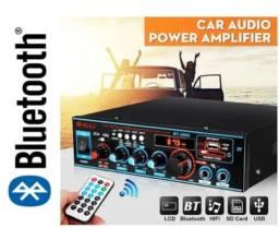 Amplificador de Som Ambiente FM MP3 Bluetooth