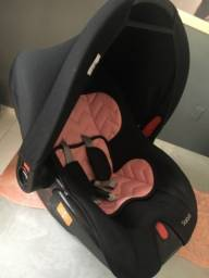 Bebê conforto rosa status voyage