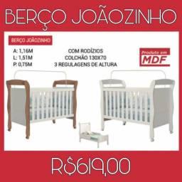 Berço Joãozinho Multiuso 8338