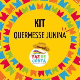 Kit quermesse brinquedo São João
