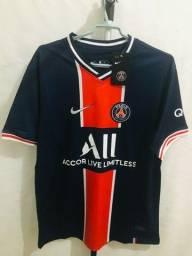 Camisa Tailandesa 1.1 do PSG Azul 2021