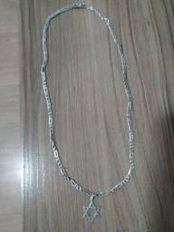 Cordão de Prata com Pingente