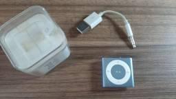 iPod Shuffle 2gb Azul Apple 4 geração cabo - Usado
