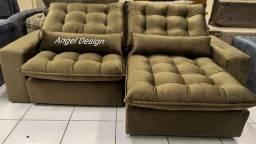 Estofados Alto Padrão Hiper Conforto E Qualidade Extra A Partir de 1.590