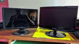 2 monitores 14 polegadas