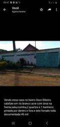 Vende se uma casa no bairro ilson Ribeiro calafate toda documentada