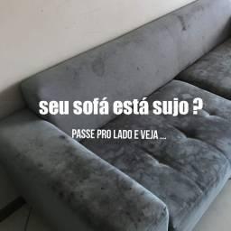 Título do anúncio: Lavagem de sofá