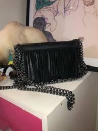 bolsa de couro linda com divisorias