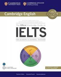The Official Cambridge Guide to Ielts Student's Book with Answers with DVD-ROM -Capa comum