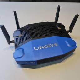 Roteador Linksys WRT 1900AC - 2.4 / 5 GHz Corporativo/Gamer exigente