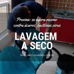 Lavagem a seco e Higienização em geral.