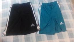 Kit de shorts adidas varias cores e tamanhos