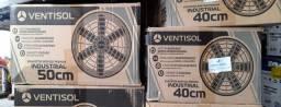 Exaustor axial diâmetro de 40 cm - Linha Industrial 220V R$715,00