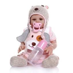 Título do anúncio: Bebê Reborn 100%Silicone