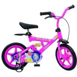 Estado de Novo, Entrego, Bicicleta X Bike Gatinha Aro 12 - Bandeirante Rosa Amortecedor