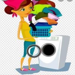 Título do anúncio: Lava-se roupas de ganho