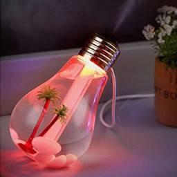 Umidificador Difusor De Ar Lâmpada Luminária Frete Gratis