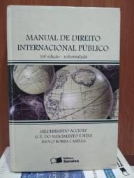 LIVRO: MANUAL DE DIREITO INTERNACIONAL PÚBLICO (Leia)