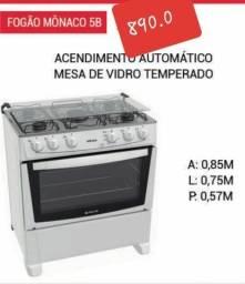 FOGÃO MÔNACO 5 BOCAS.